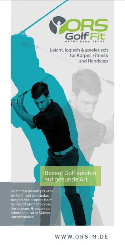 GolfFit-Programme Flyer