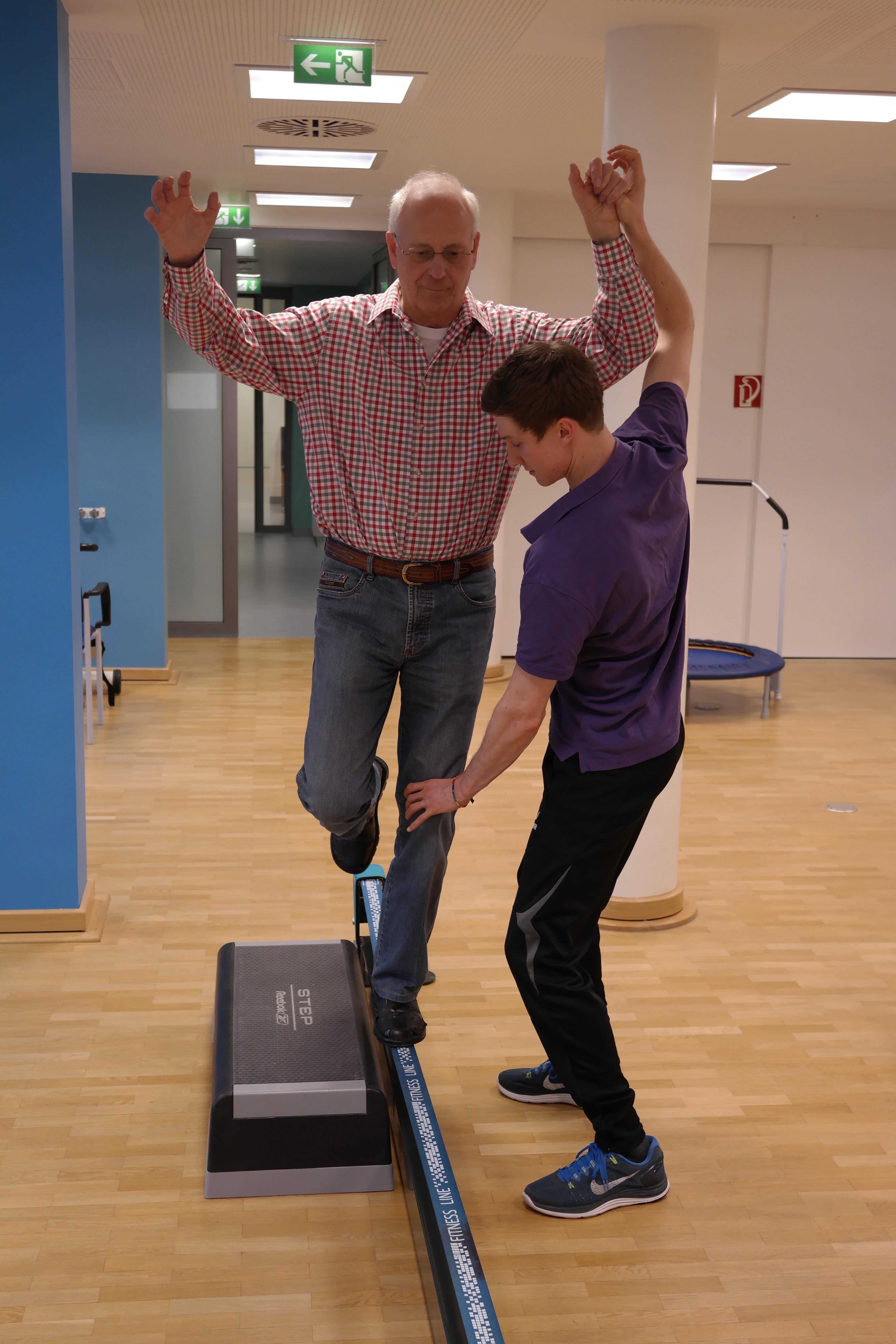 ORS: Physiotherapie mit der Slackline