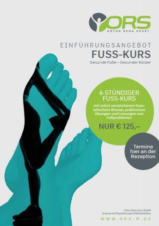 Einführungsangebot Fuss-Kurs