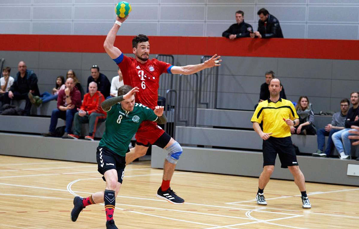 Exklusive Betreuung der Handballabteilung durch Ortho Reha Sport ORS