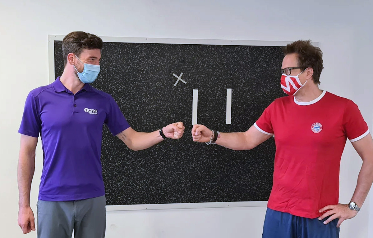 FC Bayern Handball - Kooperation mit Physiopraxis Ortho Reha Sport hilft bei der Verletzungsprophylaxe und Trainingssteuerung