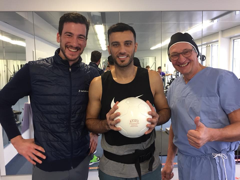 ORS - Fußballprofi Omar Al Somah