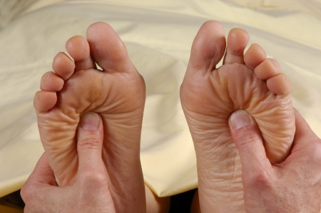 Fußreflexzonenmassage